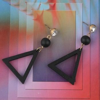 Elegant Dangler Wooden Earrings For Girls and Women
