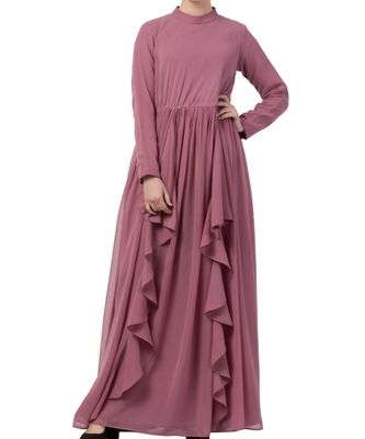 pink nida Modest Dress For All Occasions