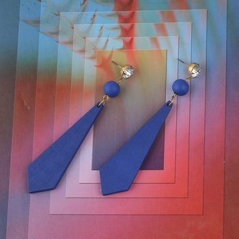 Beautiful Wooden Earring For Perfect And Different Look For Women