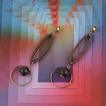 Designer Alegent Wooden Light Weight Earrings for Girls and Women.