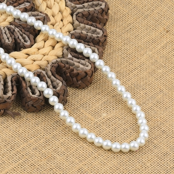 Attrative White Pearl Mala With Natural Pearl For Girls And Women
