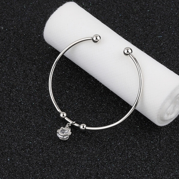 Stylish Delicated Adjustable Bracelet With Daimond For Women Girls