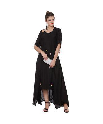 All Side Drape Long Kurti Dress