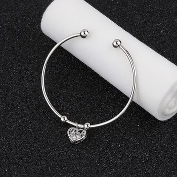 Charm Party Wear Adjustable Bracelet With Diamond For Women Girls