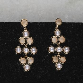 Charm Delicated Patry Wear Pearl Earring For Women Girl