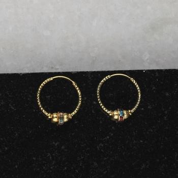 Gold Plated Bali Earring For Women Girl