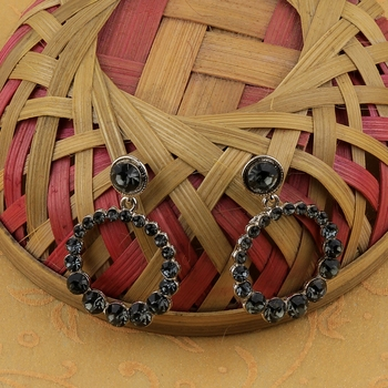 Atrractive Delicated Patry Wear Diamond Dangle Earring For Women Girl