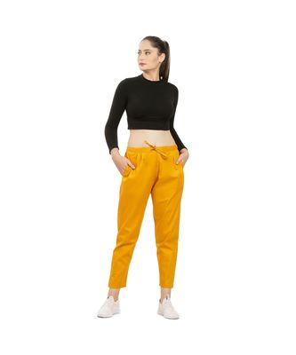Mustard Yellow Comfort Pant