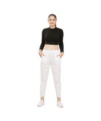 White Comfort Pant