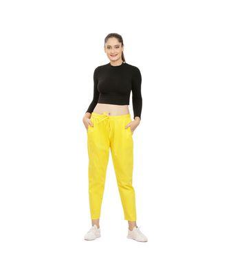 Yellow Comfort Pant