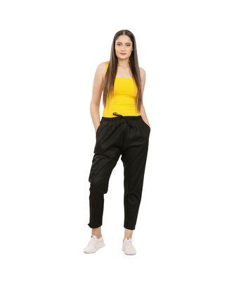Black Comfort Pant