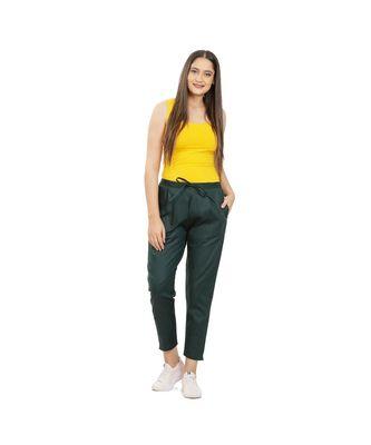 Bottle Green Comfort Pant
