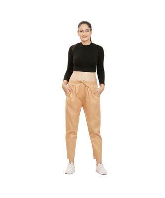 Golden Beige Comfort Pant
