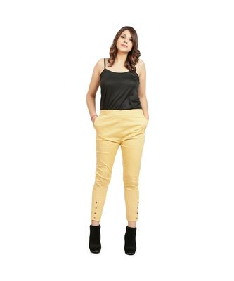 Beige Nickle Stretch Pant