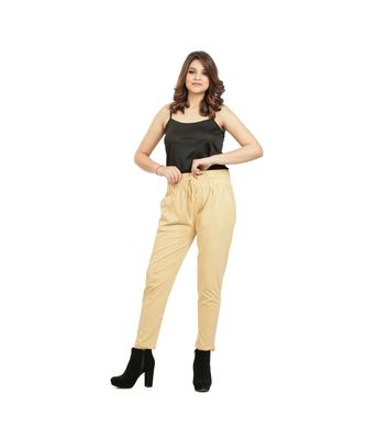 Beige Soft Pants