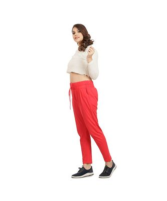Red Soft Pants
