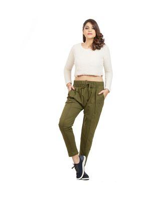 Olive Green Soft Pants