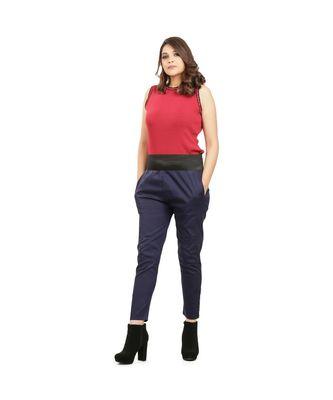 Navy Blue Tummy Tucker Pants