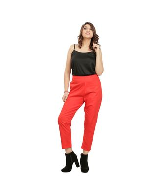 Red Weekdays Pants