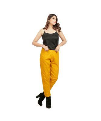 Mustard Yellow Weekdays Pants