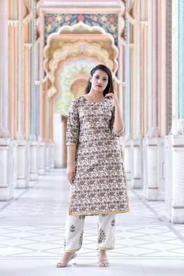 Maroon Stylish Women 3 Piece printed kurta Palazzo Set With  heavy Naznin Duppata