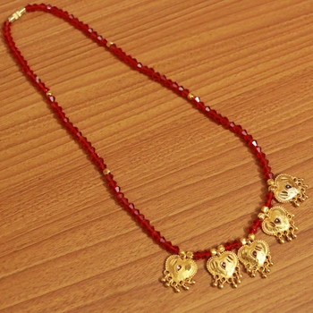 Red Crystal Mangalsutra
