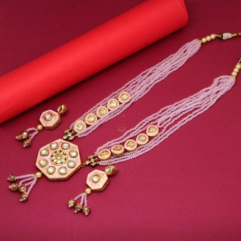 Pink Necklace Sets