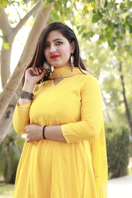 Women's RAYON Kurta pant set with heavy Designer Duppata