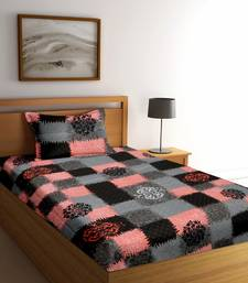 multicolor floral print Poly Cotton bed sheets