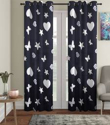 Blackout Glow in Dark Door Set of 2 Black