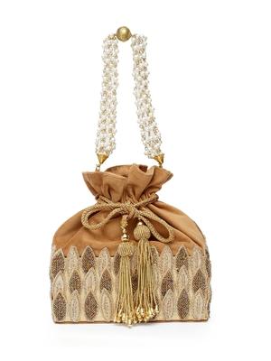 Brown pearl designer-jewellery