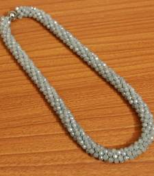 Grey Swarowski Necklace Set