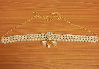 White Pearl Waist-Belt