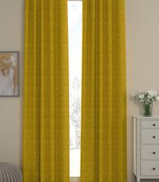 ROSARA HOME Ottoman Dyed Jacquard Pack of 2 Curtains