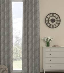 ROSARA HOME Regal Dyed Jacquard Pack of Single Curtain
