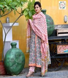Mohini hand block suit set