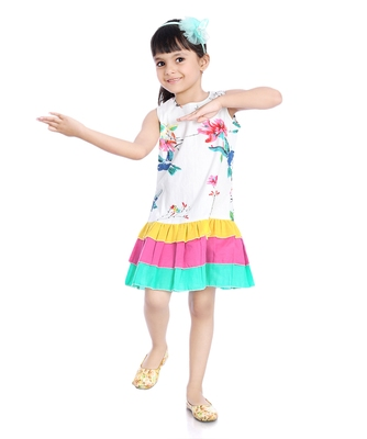 Cotton Frill Frock