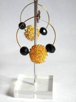 metal nest handmade loop