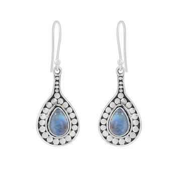 Multicolor moonstone 925-sterling-silver-earrings
