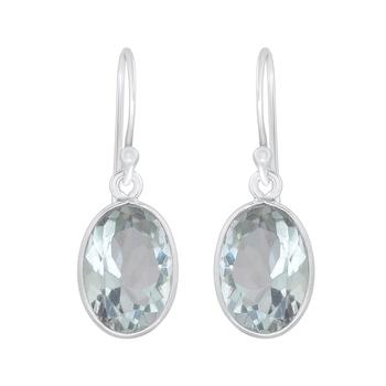 Green amethyst 925-sterling-silver-earrings