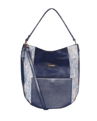 Esbeda Blue Color Printed Pattern wandler Handbag For Women