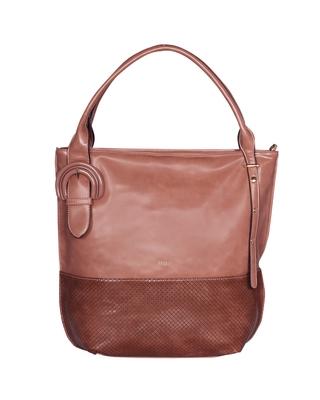 Esbeda Pink Color Solid Pattern Birkin Solid Hobobag For Women