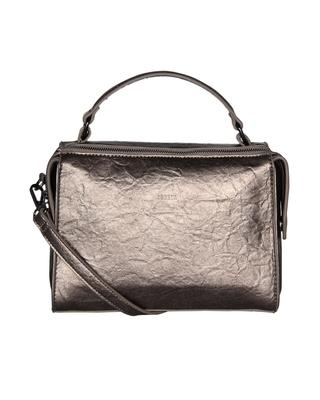 Esbeda Grey Color Solid Pattern Peperish Handbag For Women