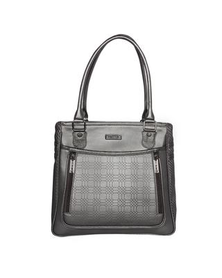 Esbeda Grey Color Solid Blissy Handbag For Women