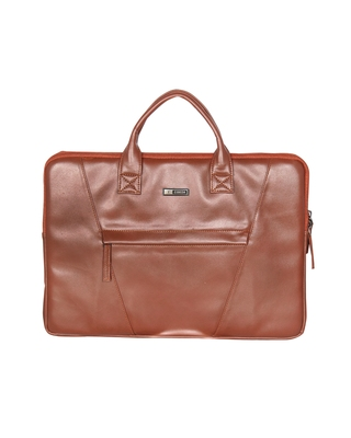 Esbeda Tan Color Solid Laptop Sleeve For Mens and womens
