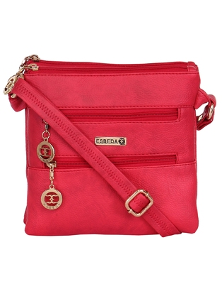 Esbeda ladies Sling Bag RED color