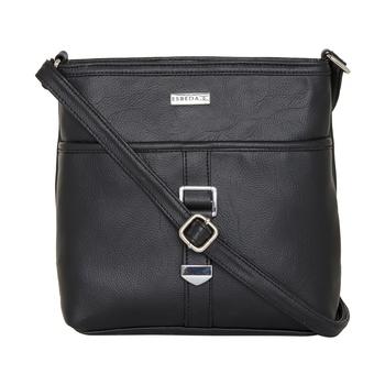 Esbeda Black color Solid Drymilk slingbag for women