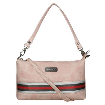 Esbeda Drymilk Pink PU Synthetic Slingbag For Women's