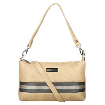 Esbeda Drymilk Beige PU Synthetic Slingbag For Women
