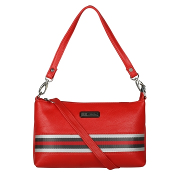 Esbeda Drymilk Red PU Synthetic Slingbag For Women's